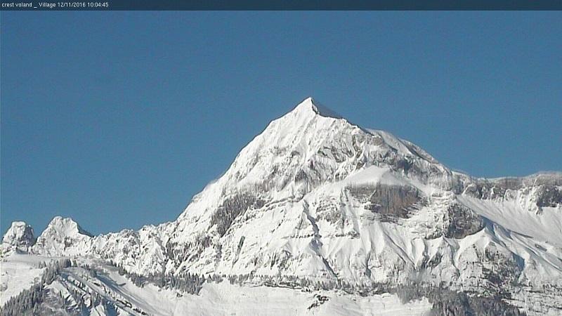 Le Mont Charvin, majestueux