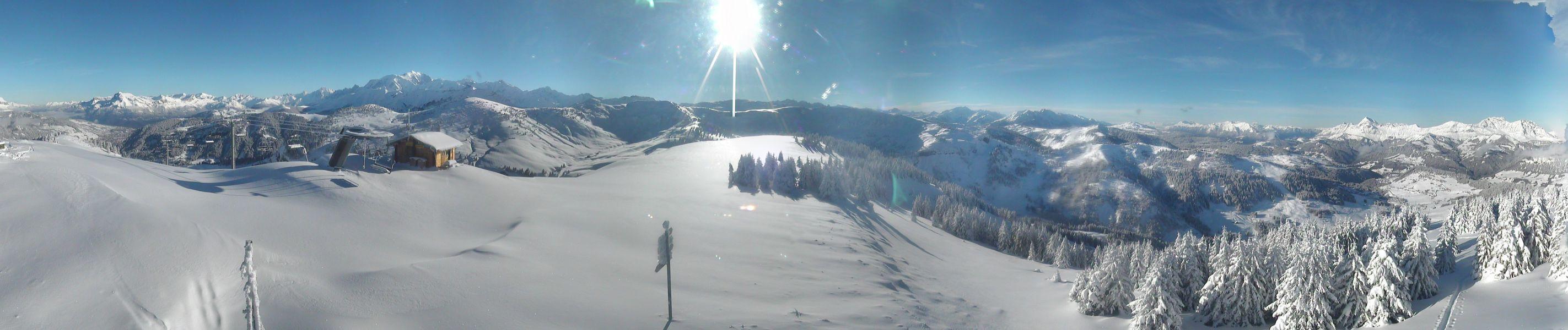 Encore plus d'un mois à patienter avant l'ouverture du domaine alpin...