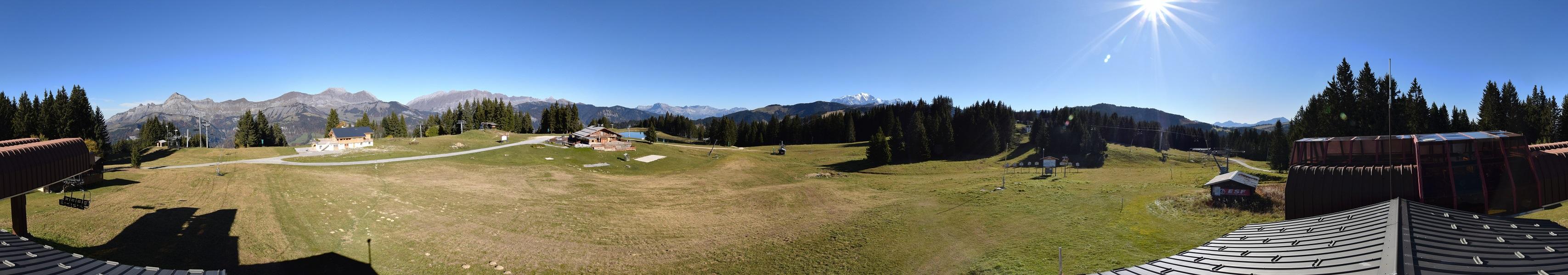 Nouvelle webcam 360° de grande qualité au sommet du Lachat à Crest-Voland