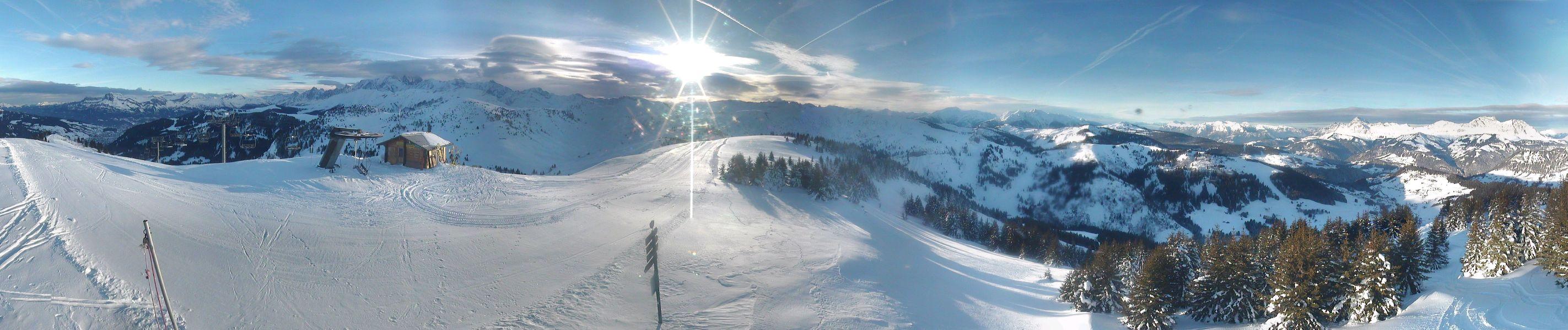 Qui sera le premier skieur à fouler des spatules le mythique sommet de Ban Rouge demain ? ;)