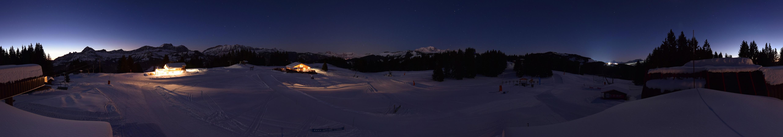 Que d'étoiles dans le ciel Crest-Volantain en cette nuit de Noël !