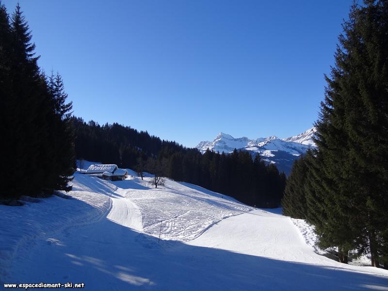 Domaine skiable de Flumet