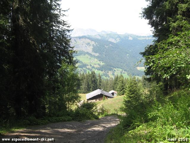 Quelques paysages depuis les pentes du massif