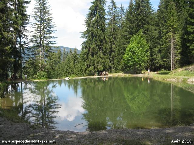 Petit d�tour par le Lac des Evettes