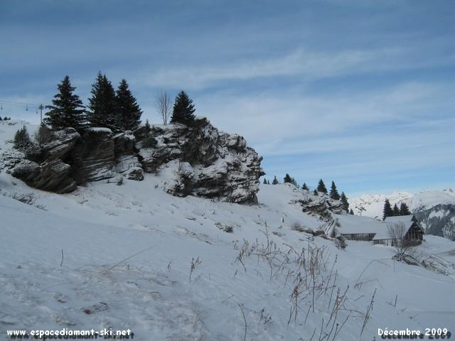 Sur l'Espace Diamant, un seul mot d'ordre : le ski nature...