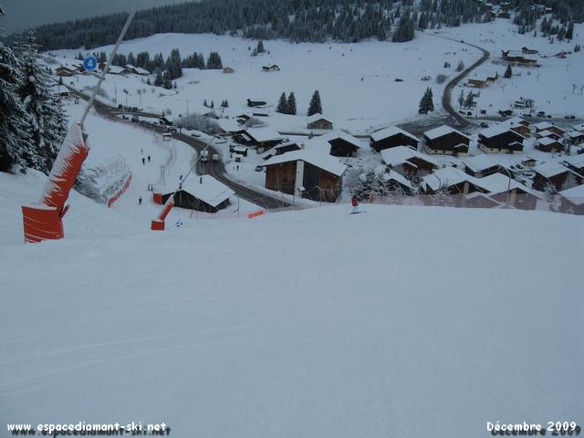 Le célèbre mur final de Chenavelle, qui aura piégé bon nombre de skieurs...