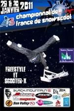 Championnats de France de Snowscoot à Notre Dame de Bellecombe
