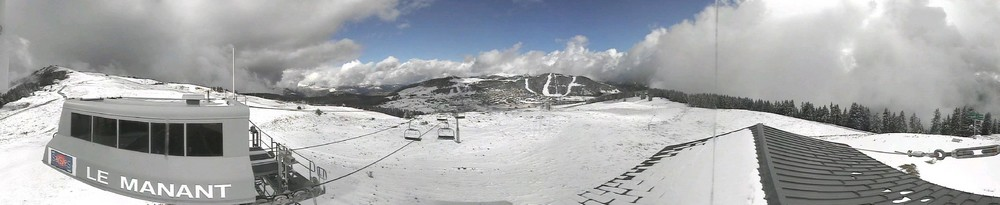 Panorama depuis le sommet du Manant...
