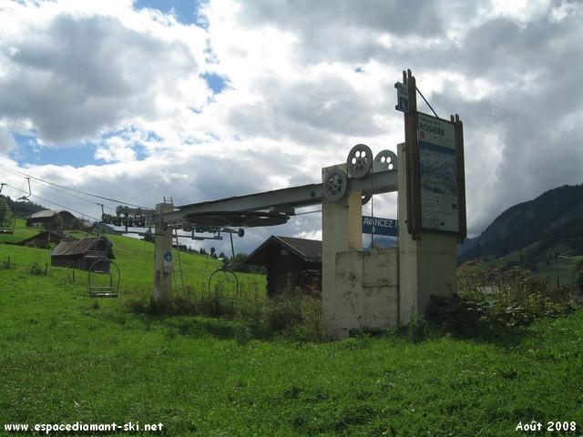 Le TSF2 des Rosières à Praz sur Arly construit par Sacmi