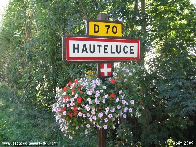 Bienvenue à Hauteluce !
