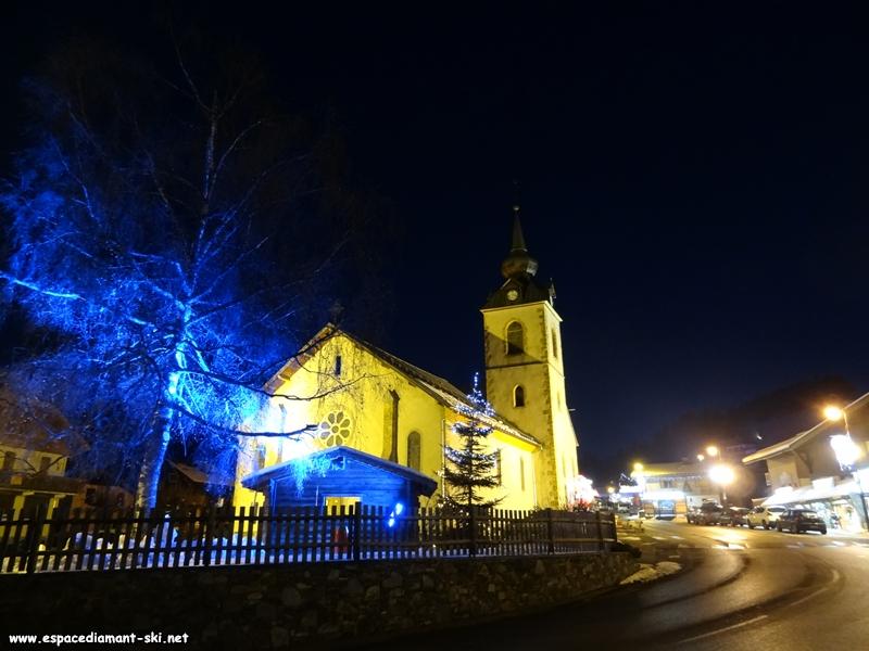 Quelques illuminations autour de l'église